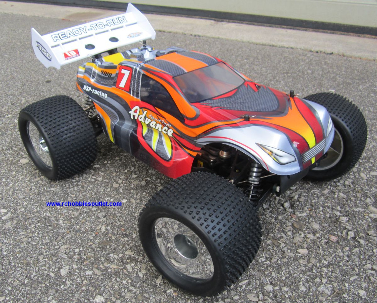RC Truggy Brushless electric Top2