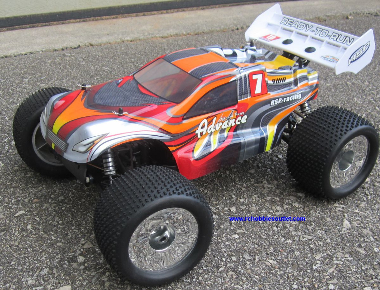 RC Truggy/Truck Brushless Electric 1/8 Scale TOP2  LIPO 4WD 2.4G  08061-4