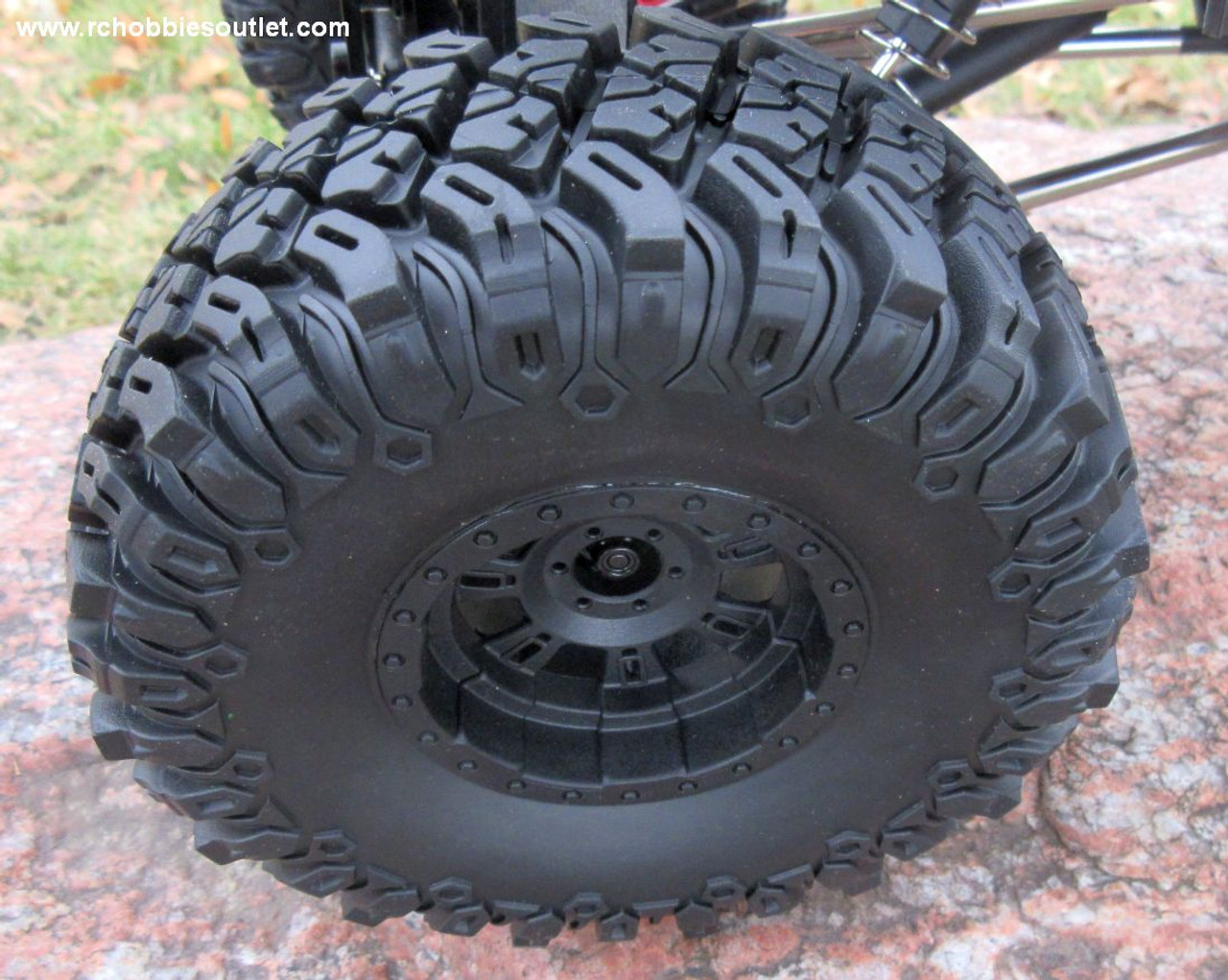 RC Rock Crawler Truck with 4 Wheel Steering 1/10 Scale 2.4G  4WD  88027