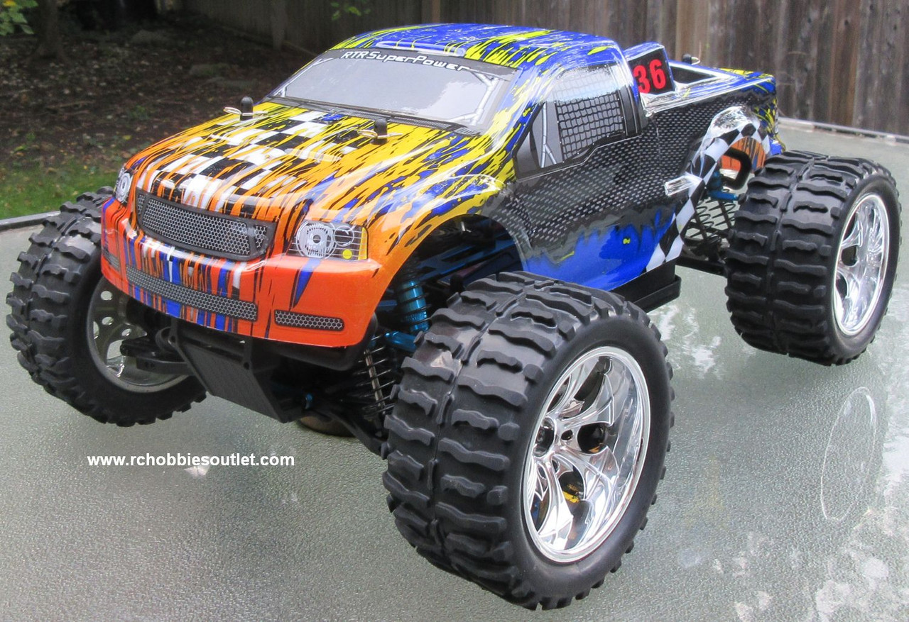 RC Brushless Electric Truck 1/10 PRO TOP2 LIPO 2.4G 88042