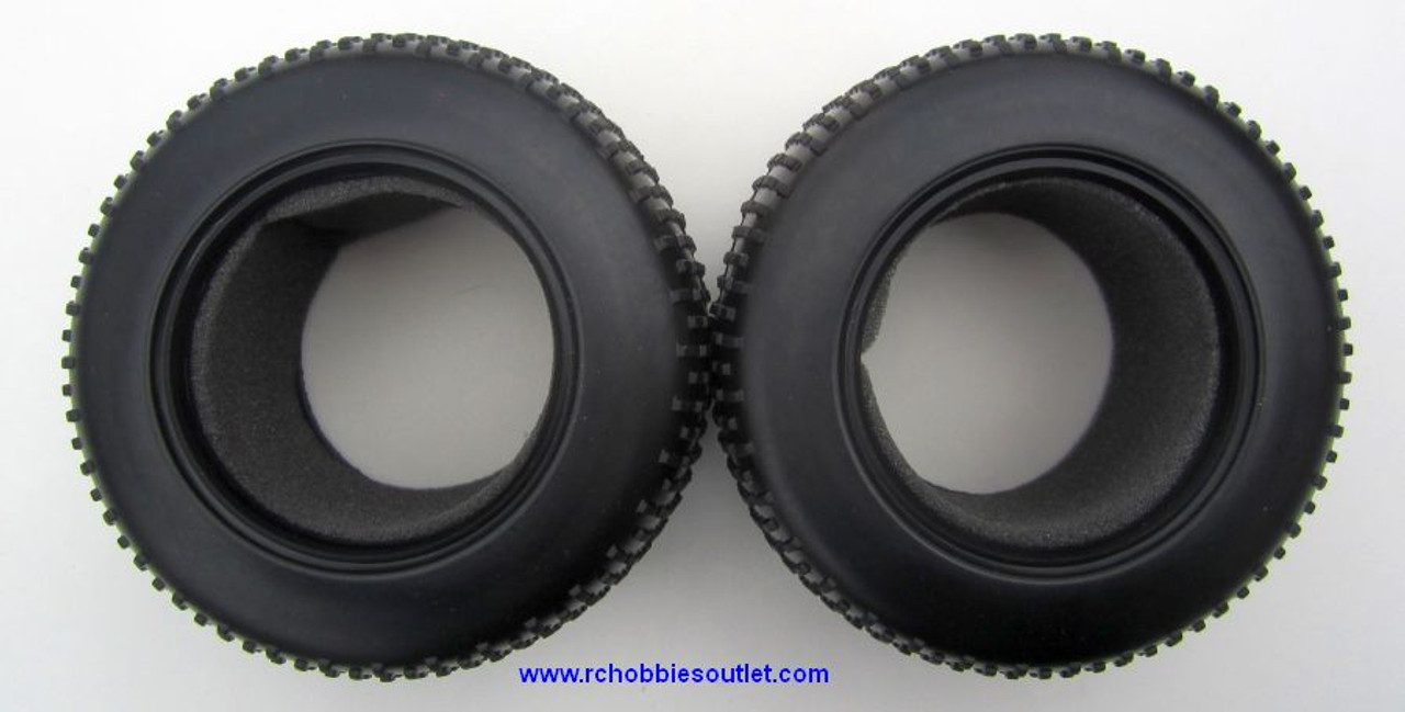 17702 Pre-mounted Truggy Tire  for 1/10 Truggy with Sponge Insert