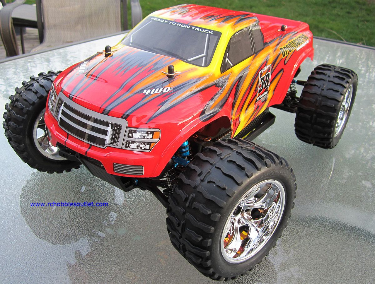 RC Truck Brushless Electric 1/10 PRO TOP2  LIPO 4WD 2.4G  88040