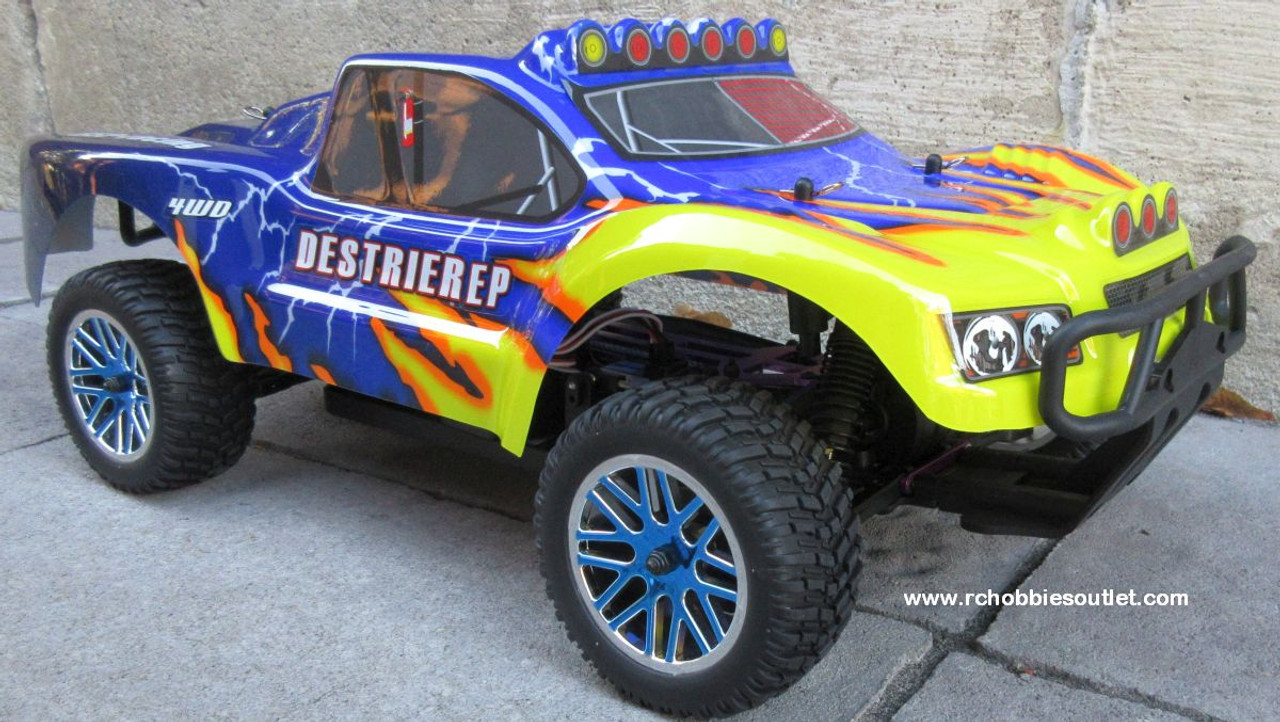 RC Short Course Truck Brushless Electric 1/10 LIPO 4WD 2.4G RTR 17100