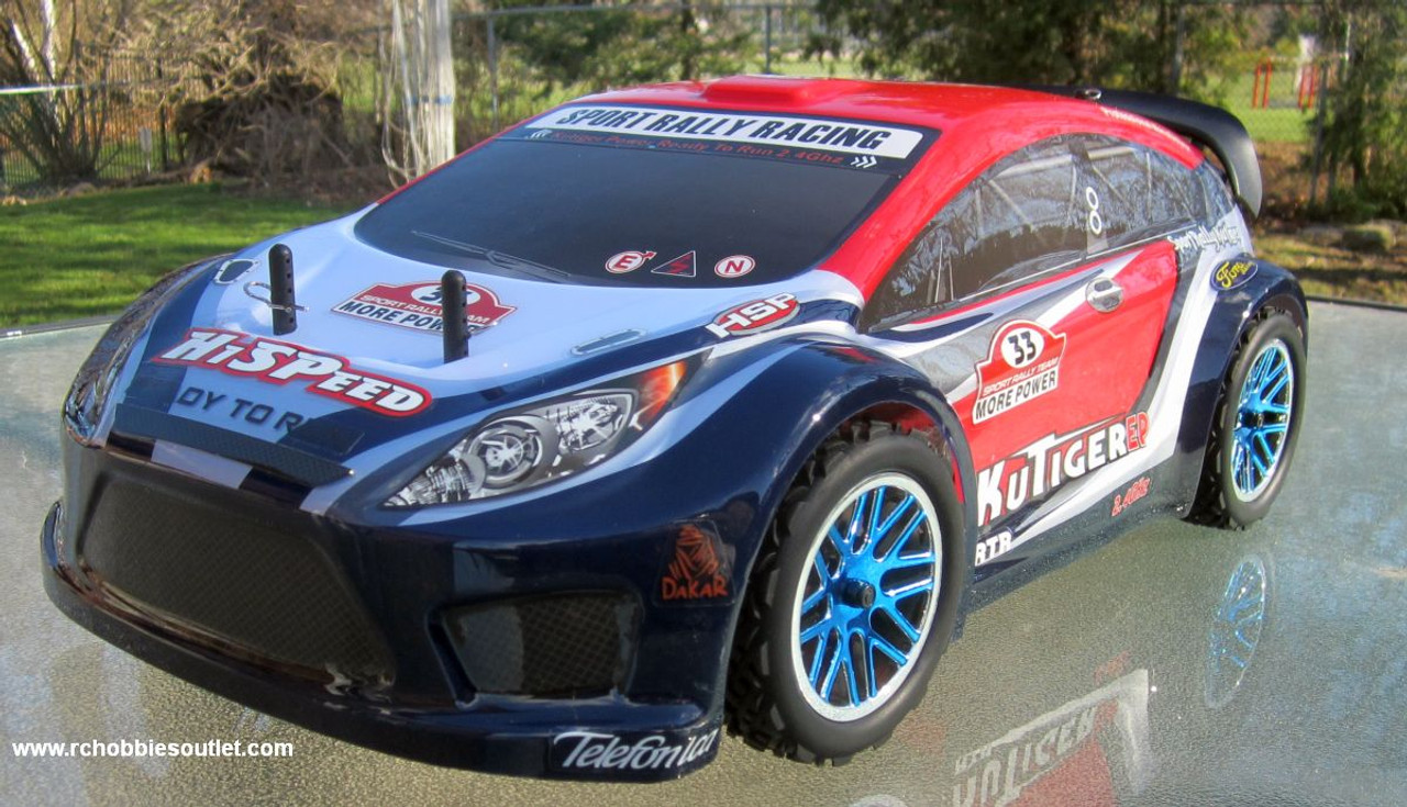 RC Sport Rally Car  Brushless Electric 1/10  Radio Control LIPO 2.4G 4WD  17794