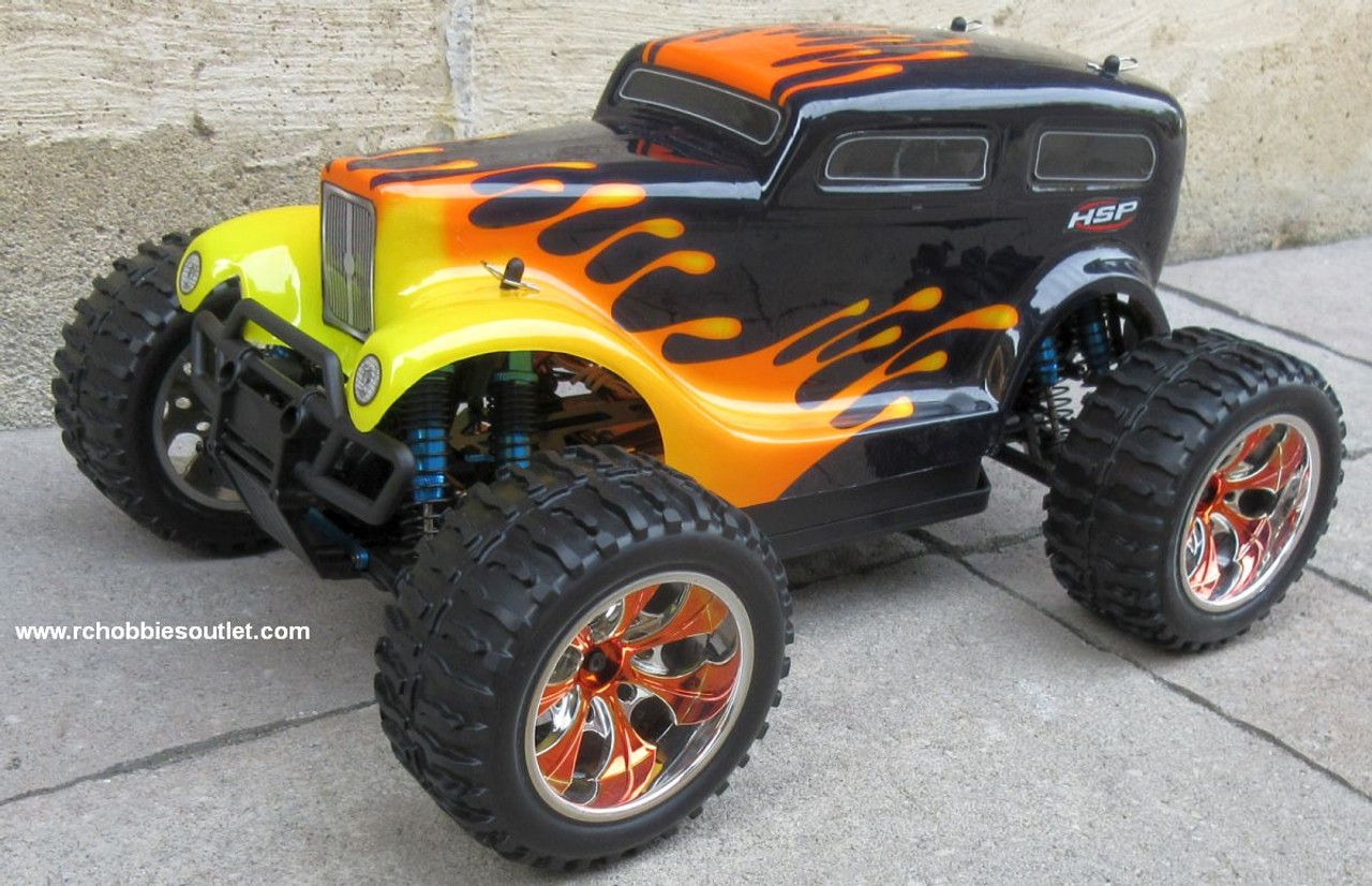 RC Monster Truck Brushless Electric 1/10 PRO LIPO 2.4G 4WD 88046
