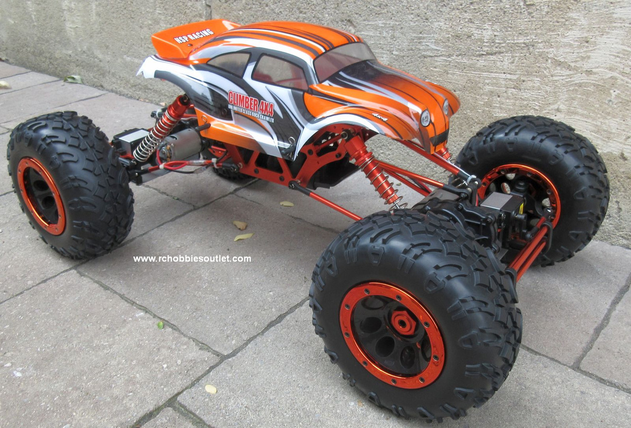 RC Rock Crawler Truck 1/8 Scale T2 RTR 4X4 2.4G 4 Wheel Steering 88217