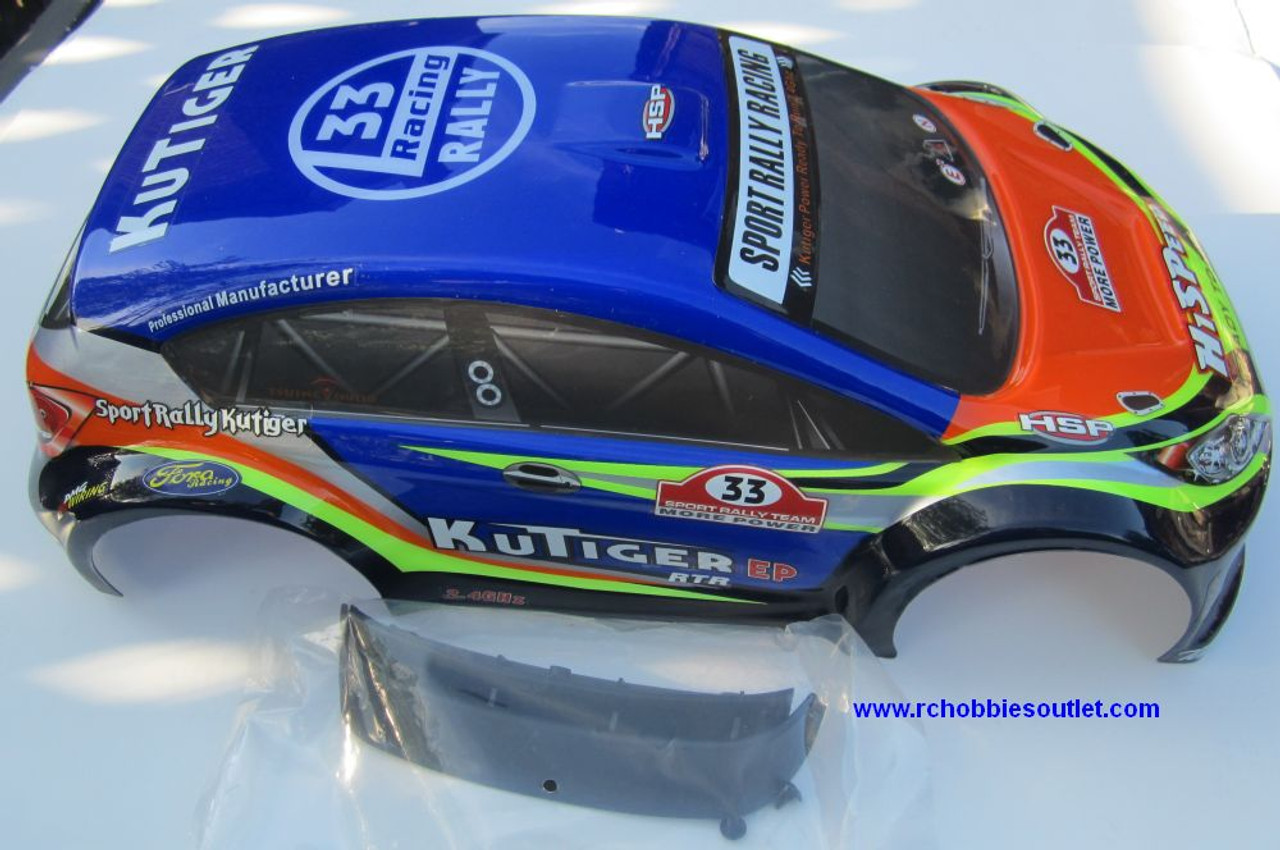 17793 Body Shell for HSP 1/10 Scale Sports Rally Car