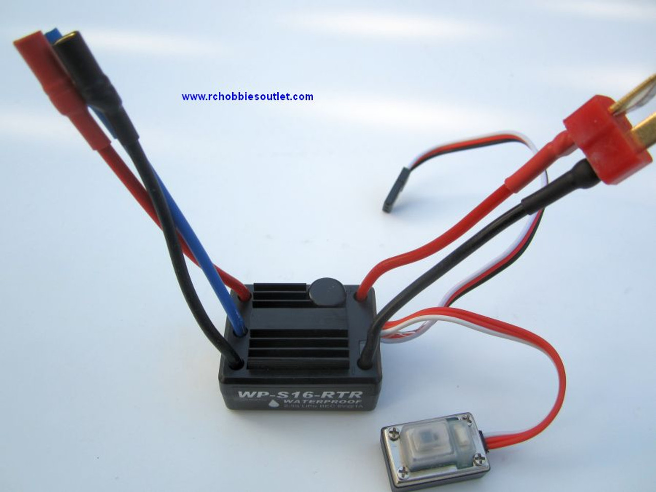 18246 ESC 1/16 Scale Brushless Electronic Speed Control