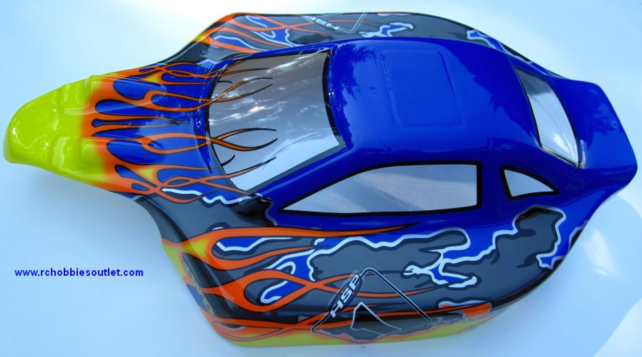 81353  1/8 Scale Body Shell for RC Nitro Camper Buggy