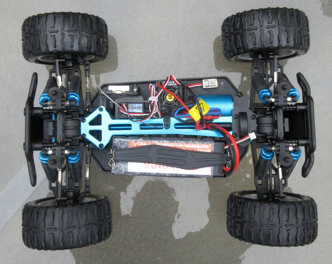 RC  Electric Truck 1/10 Scale 2.4G 4WD Off Road RTR  88024