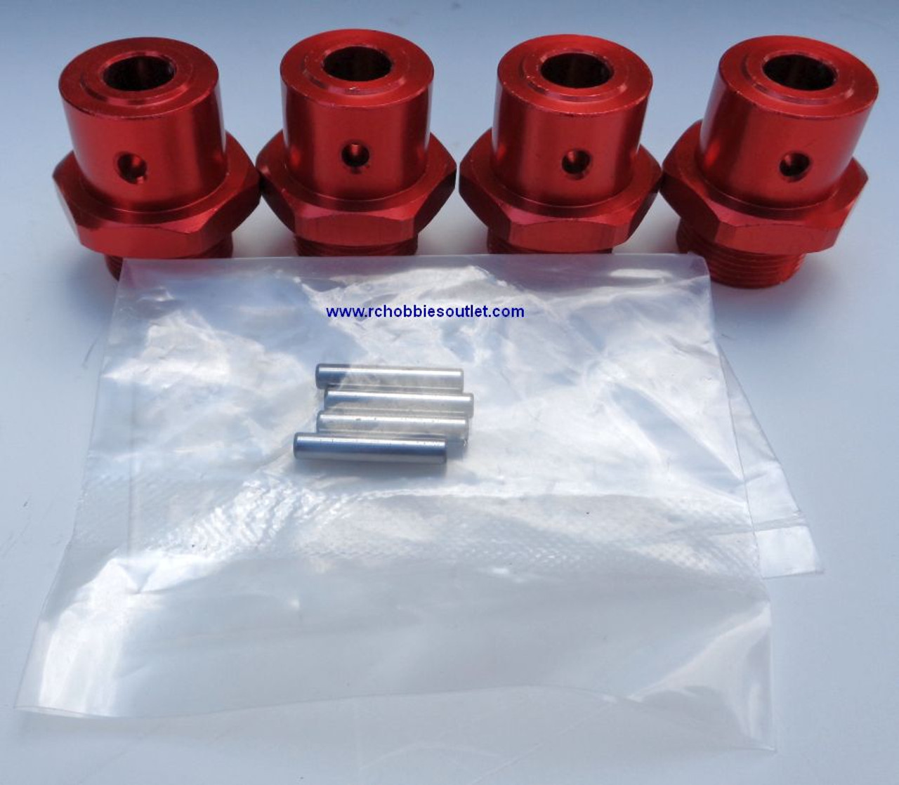 98036 Adapter Set for 1/8 scale Rock Crawler with Pins HSP Redcat