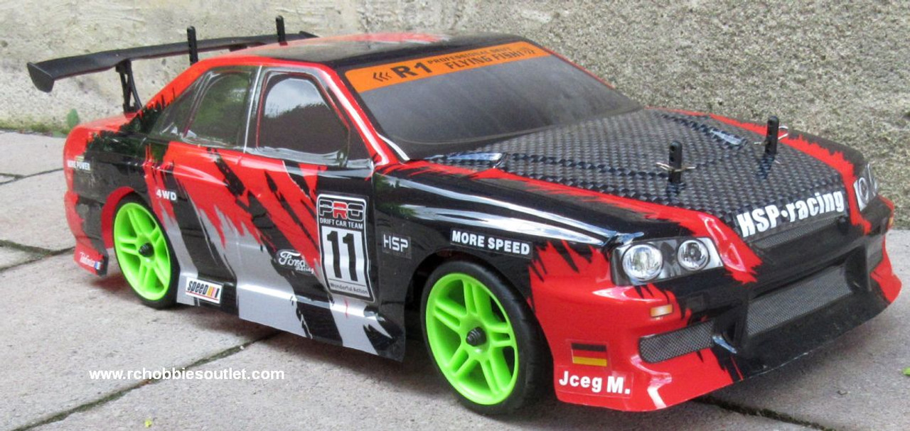 RC Race Car  Electric 1/10 Scale 2.4G Radio Remote Control 4WD  RTR 12334