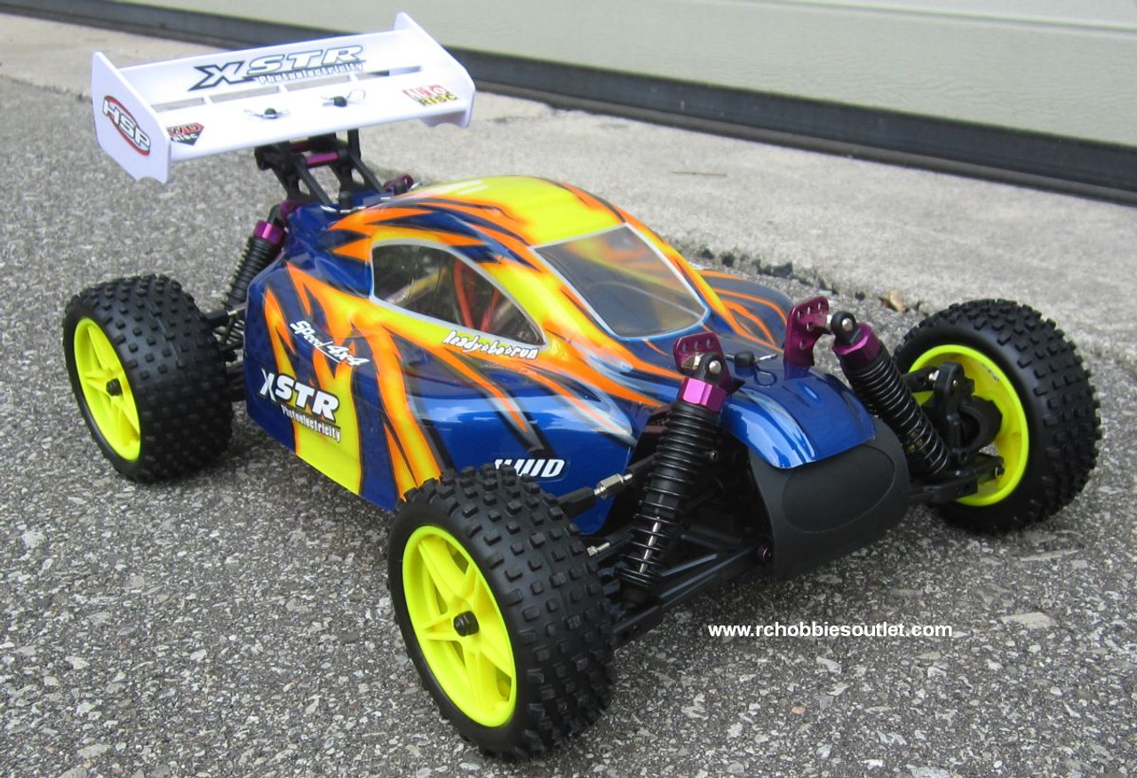 RC Electric Buggy / Car  1/10 Scale  2.4G 4WD  RTR  10718