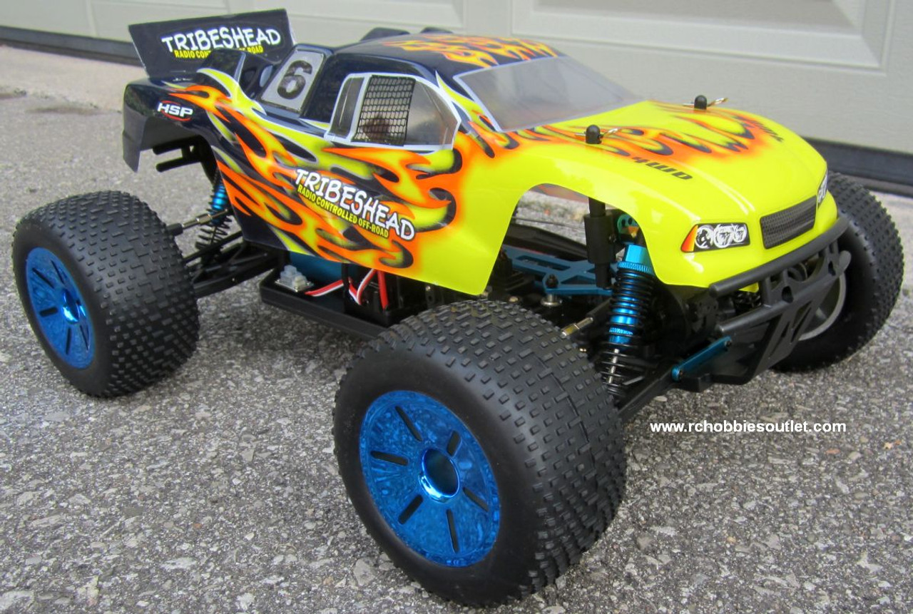 RC Truggy / Truck Brushless Electric 1/10 PRO LIPO 2.4G 12415