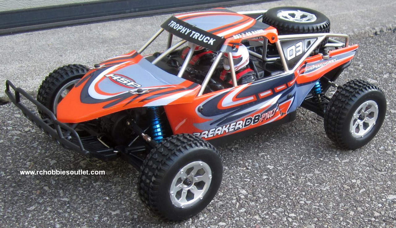 RC Trophy Truck Brushless Electric Baja Style 2.4G 4WD LIPO 1/10 Scale 20192
