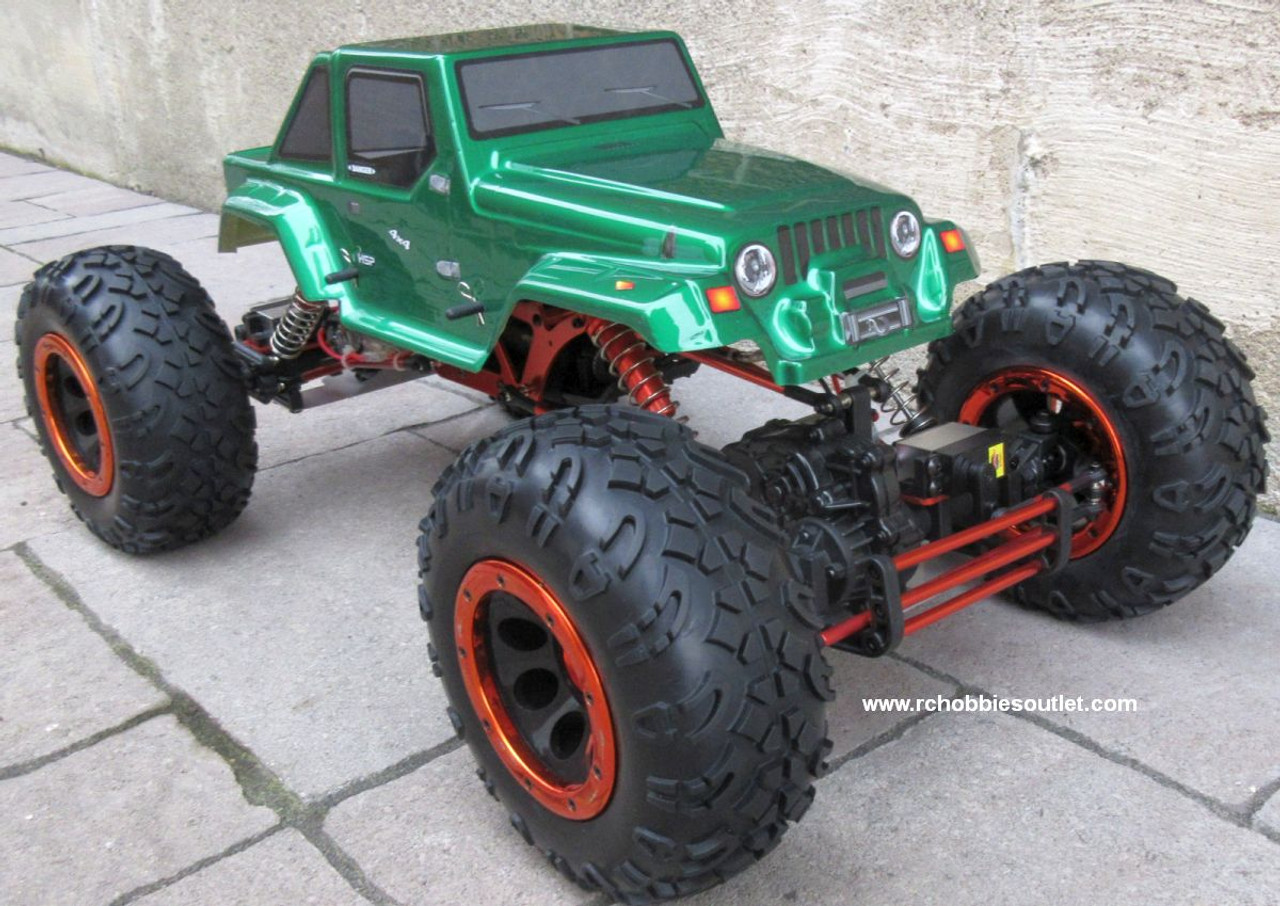 RC Rock Crawler Truck 1/8 Scale T2 RTR 4X4 2.4G  4 Wheel Steering 06711