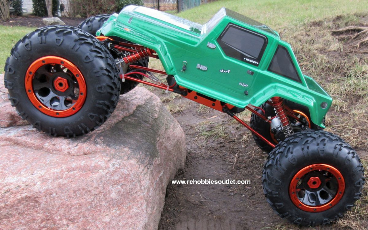 Rc Rock Crawler Truck 1 8 Scale T2 Rtr 4x4 2 4g 4 Wheel Steering 06711 Rchobbiesoutlet