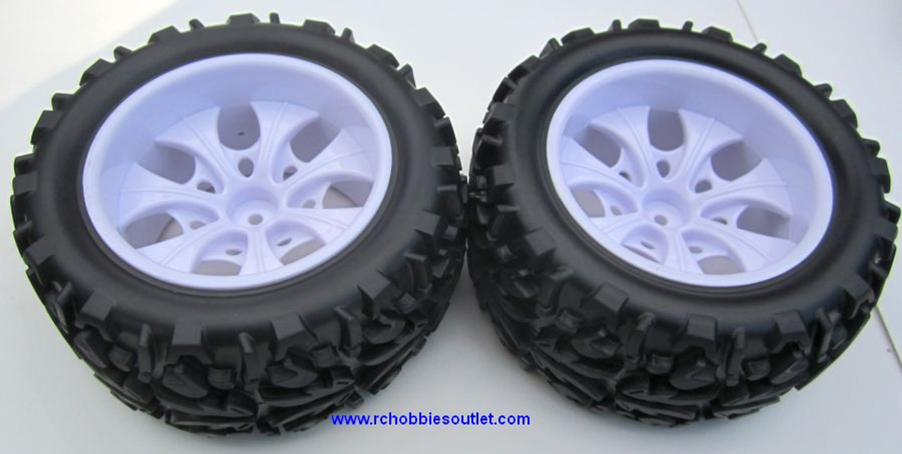 20126 Wheels with white rims