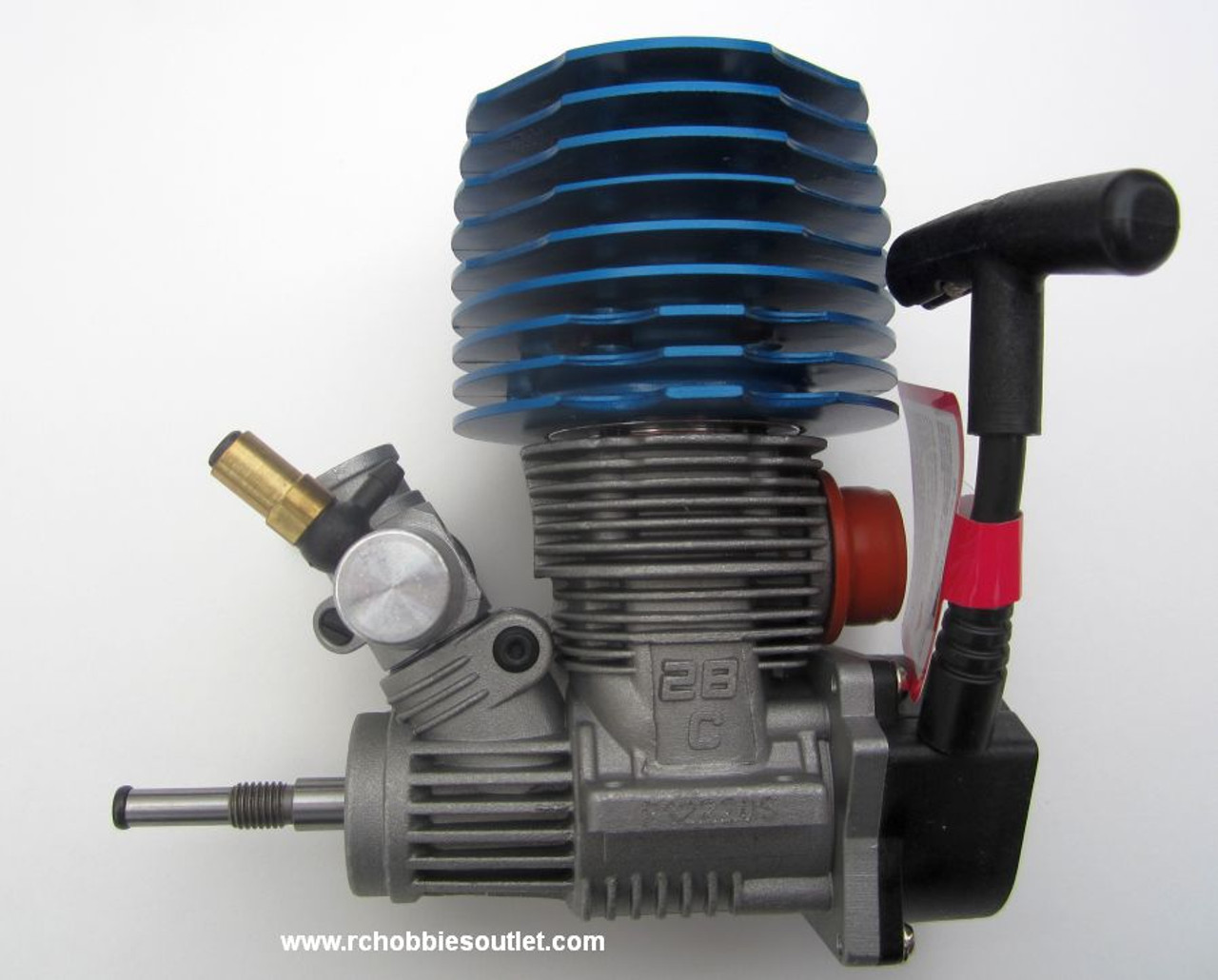 SH 28 Nitro RC Engine 4.57cc for 1/8 Scale with Pull-out Carburetor HSP Redcar