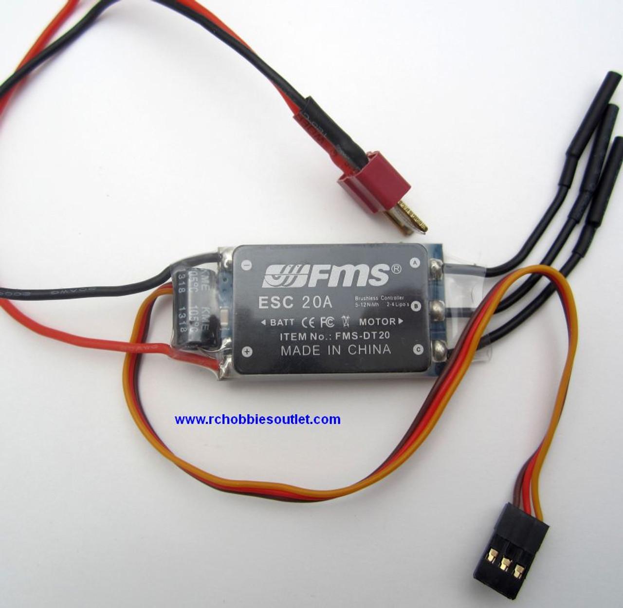 FMS 20 AMP Brushless ESC