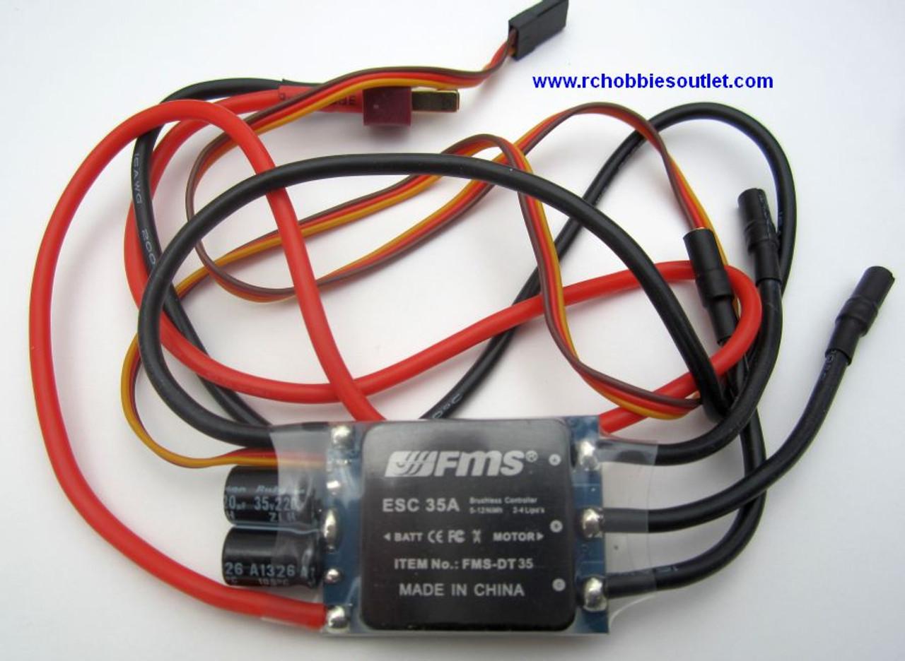 FR 202 FMS 35 AMP Brushless ESC