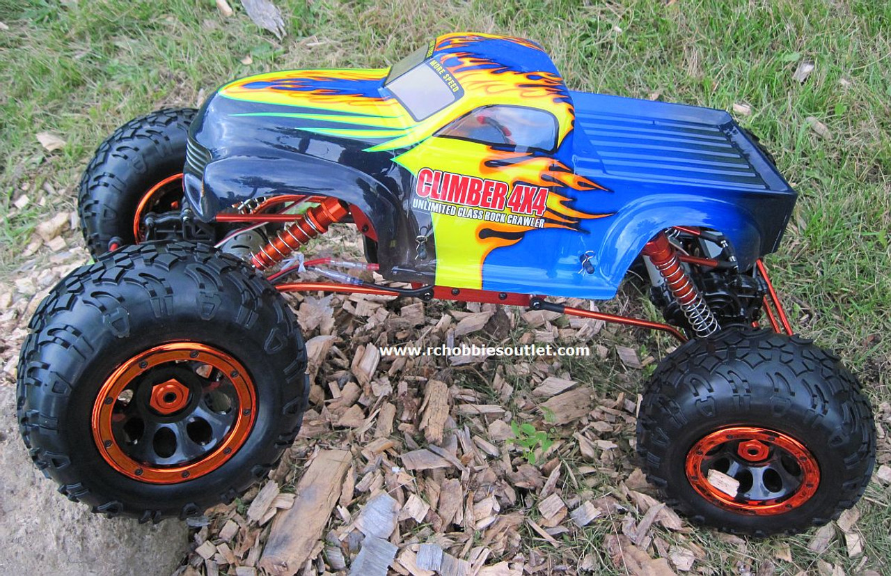 RC rock crawler 1/8 scale 4WS