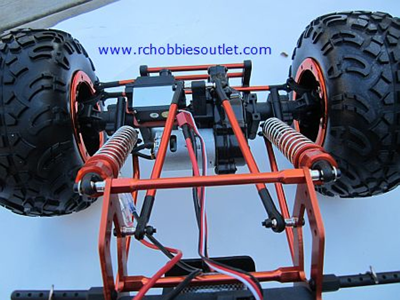 RC Rock Crawler Truck 1/8 Scale T2 RTR 4X4 2.4G  4 Wheel Steering 48809