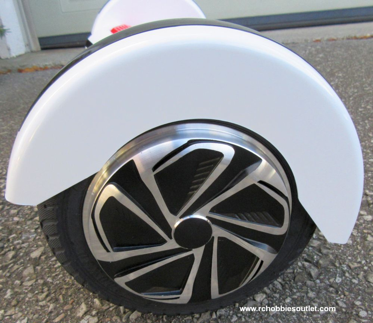 "Hoverboard Smart Self-Balancing Scooter 8.0"" White"