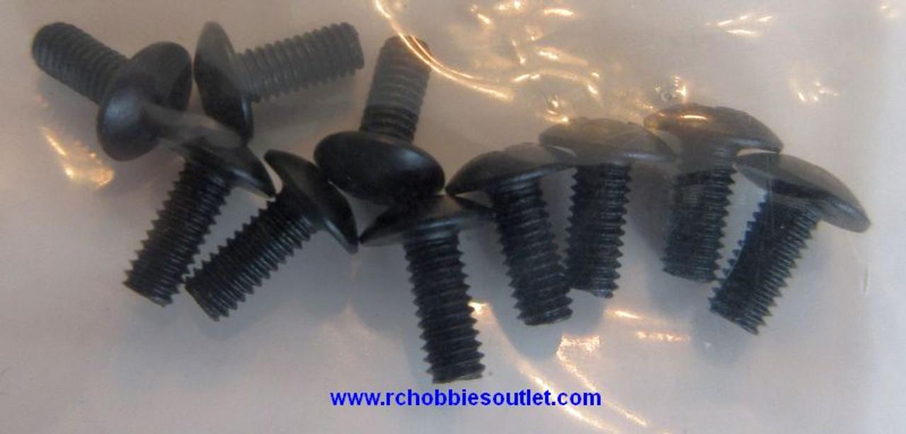 18249  2.6x6mm Cap Head Machine Screws
