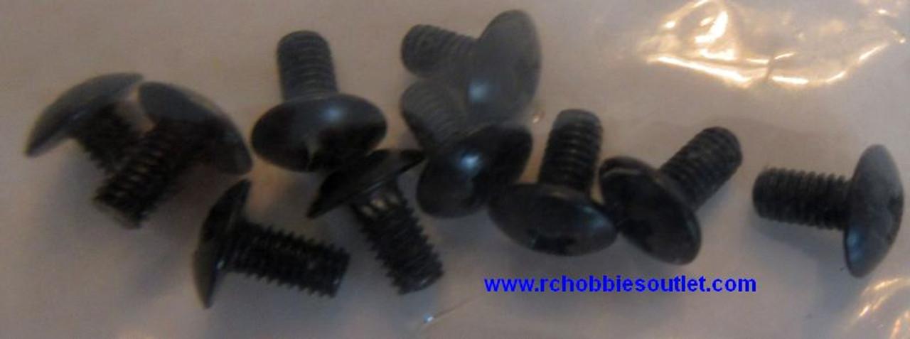 18251  2.6x5mm Cap Head Machine Screws