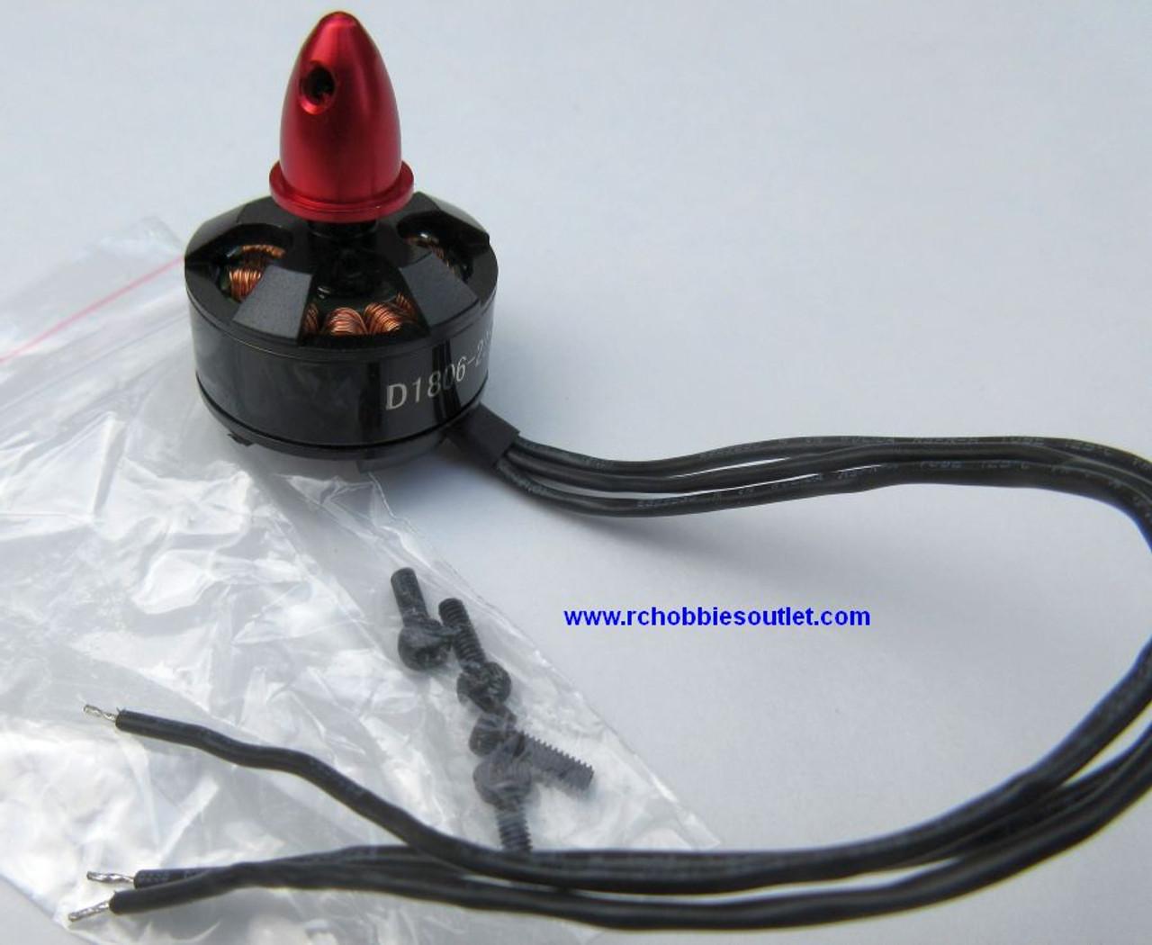 Brushless Motor  1806-2280KV for  Racing Drones  Clockwise Motor