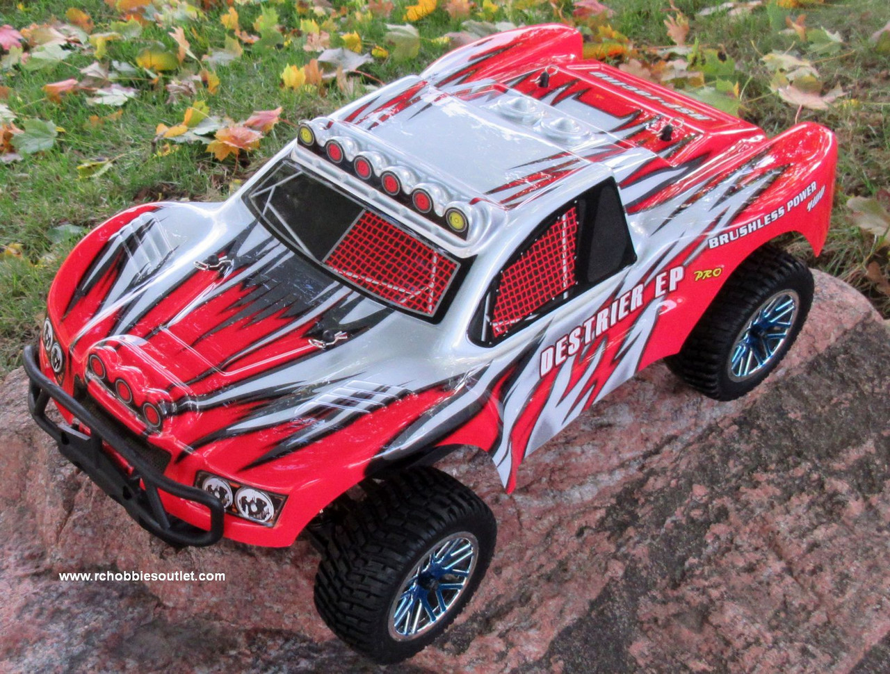 RC Short Course Truck Brushless Electric 1/10 LIPO 4WD 2.4G RTR 17097