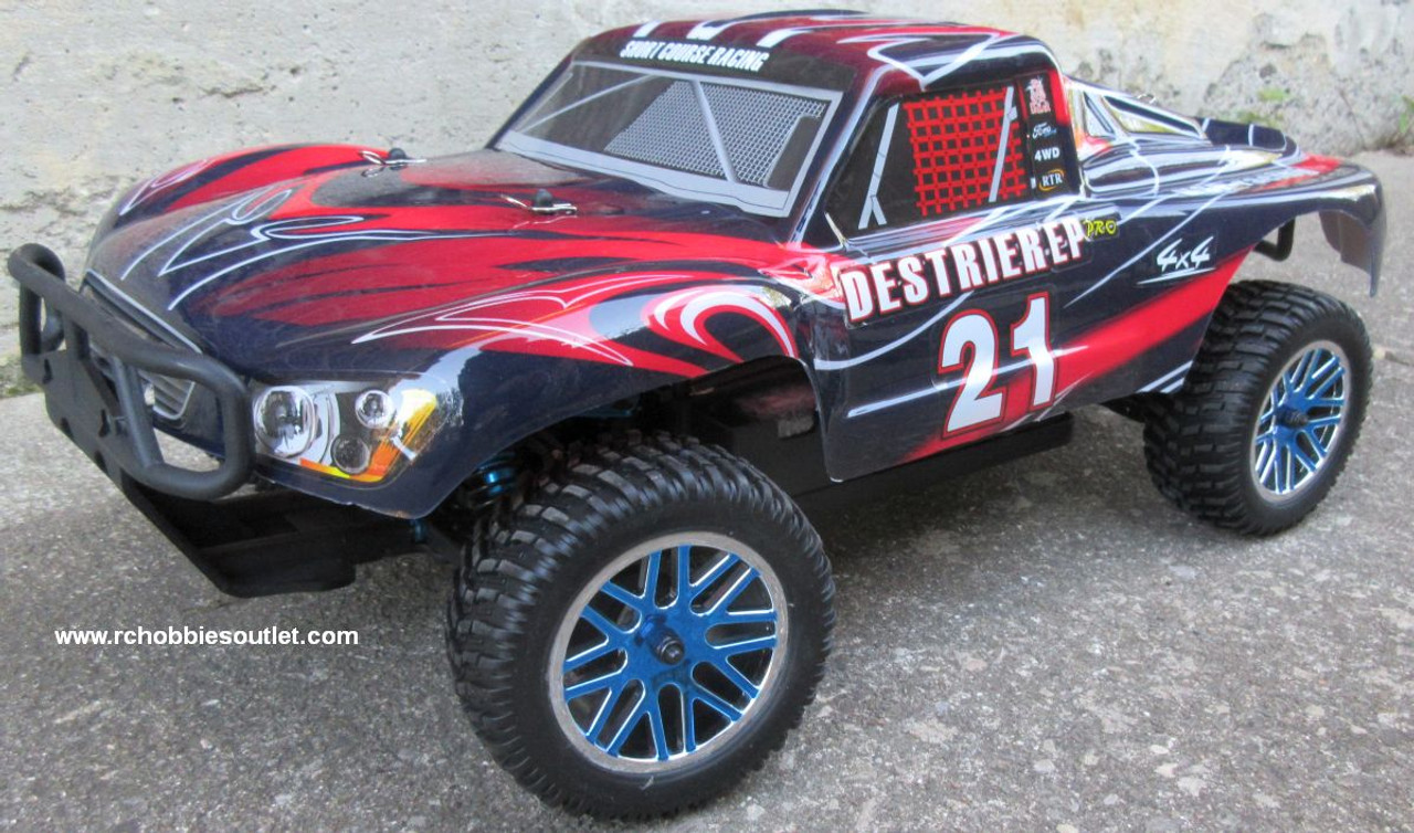 RC Short Course Truck Brushless Electric 1/10 LIPO 4WD 2.4G RTR 55902