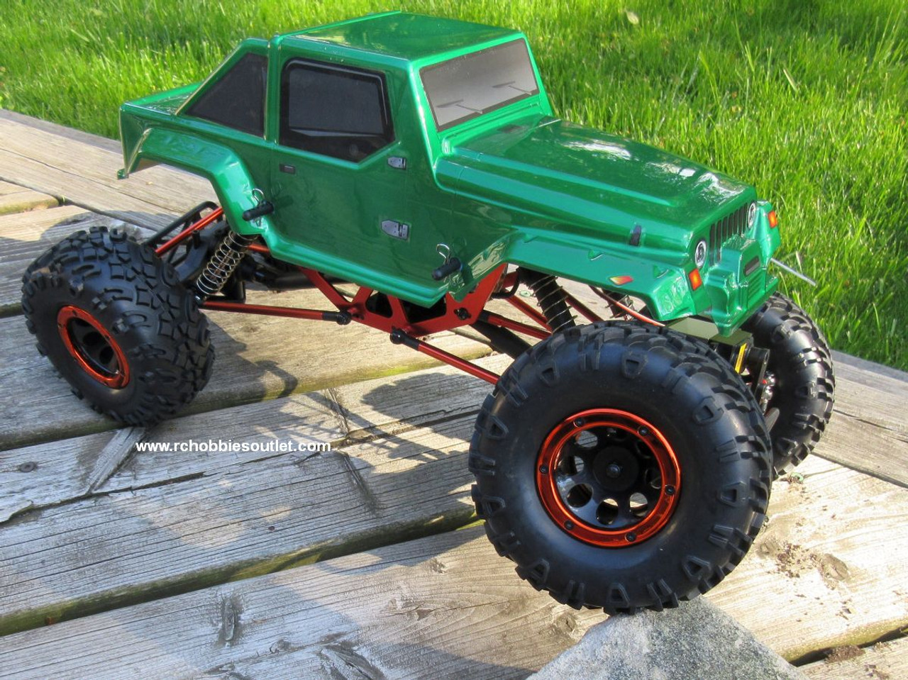 RC Rock Crawler Truck Electric 1/10 Scale RTR 2.4G 4WD 10315