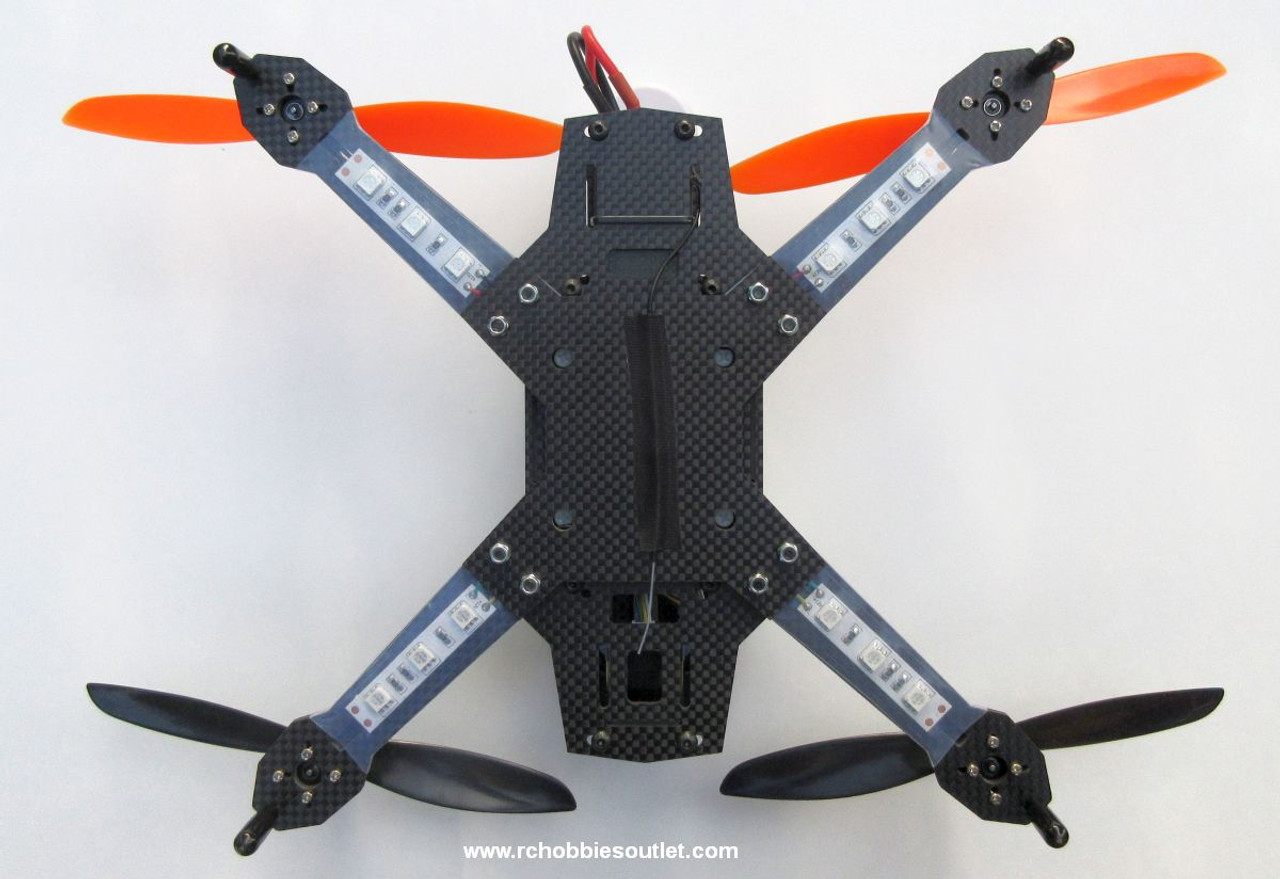RC Racing Drone Quadcopter RTF  FPV  Kit L250 Carbon Fiber Frame