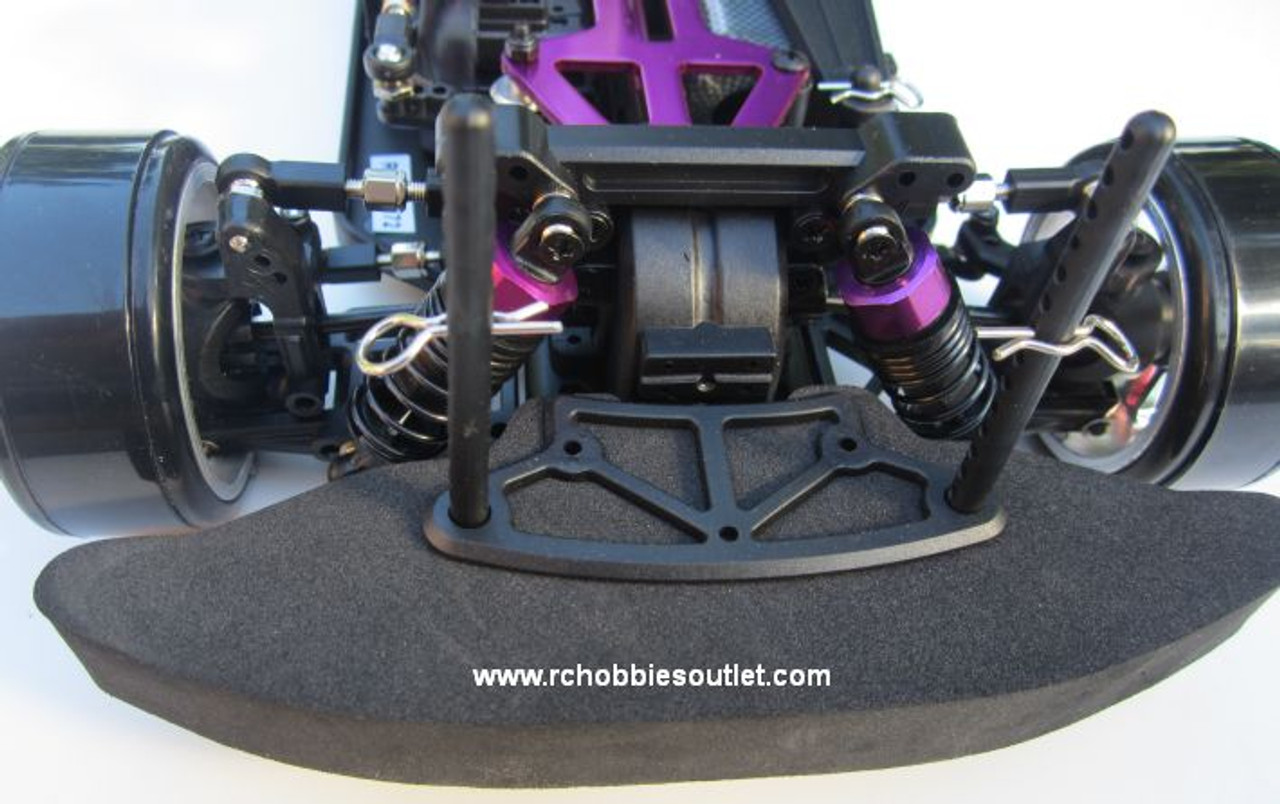 RC Drift Car Electric with 8 Lights  Radio Control 2.4G RTR 1/10 12363-Y45