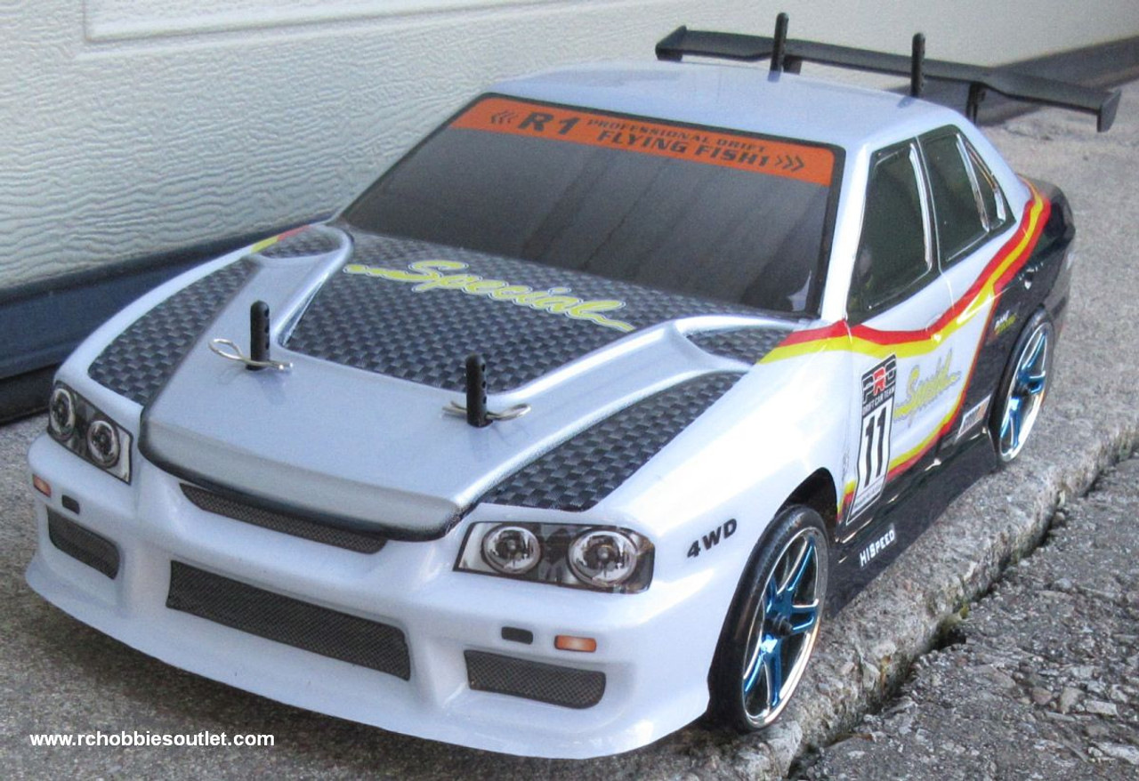 RC Drift Car Electric Radio  Control RTR 1/10 2.4G 4WD 12333