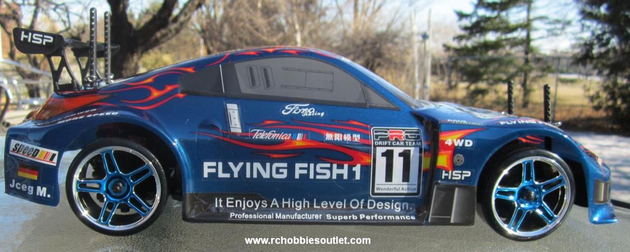 RC Drift Car blue