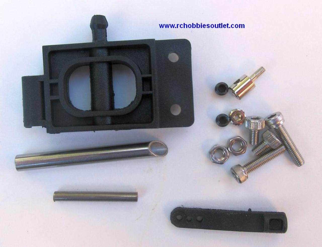 83018 Rudder Assembly  Plastic Bracket for 8301 Bullet 8302 US1  Joysway Boat