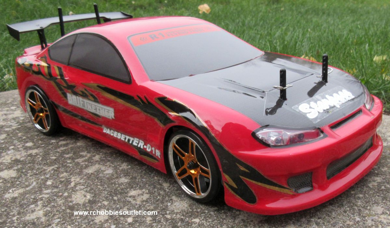 RC Electric Drift Car with 8 Lights  Radio Control 2.4G RTR 1/10 Scale R45