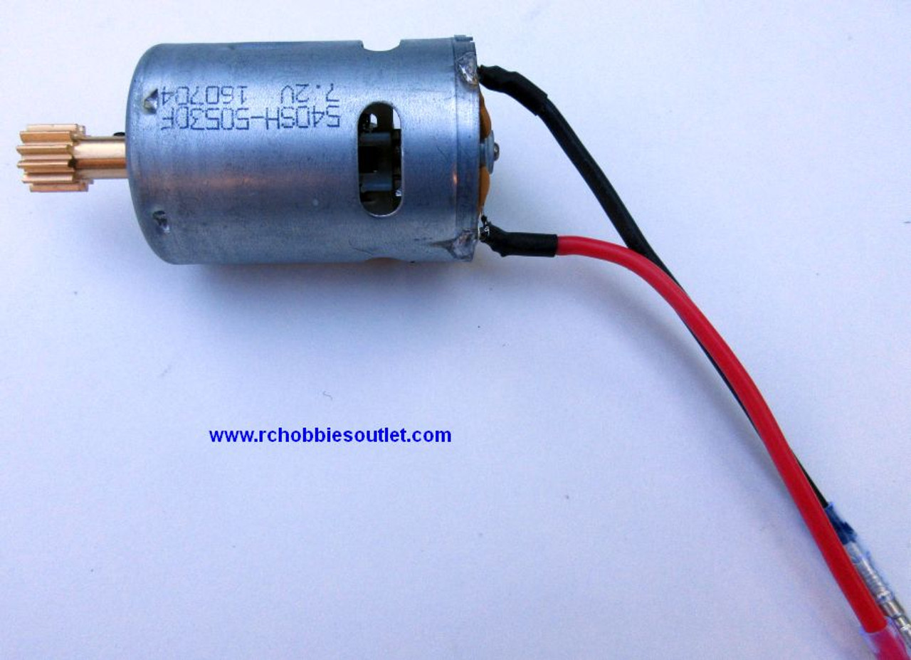 98060 03012 Motor (RC540) W/Gear (12T) For HSP  4WD Rock Crawlers