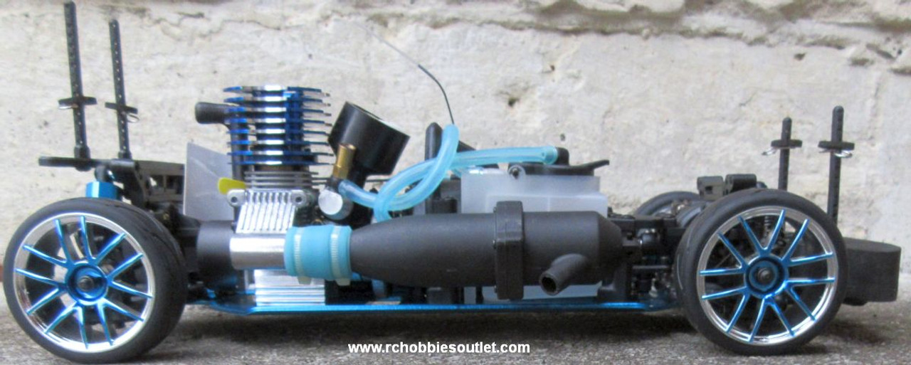 RC Nitro Race Car  Radio Remote Control 1/10 Scale 2.4G RTR 4WD 10022