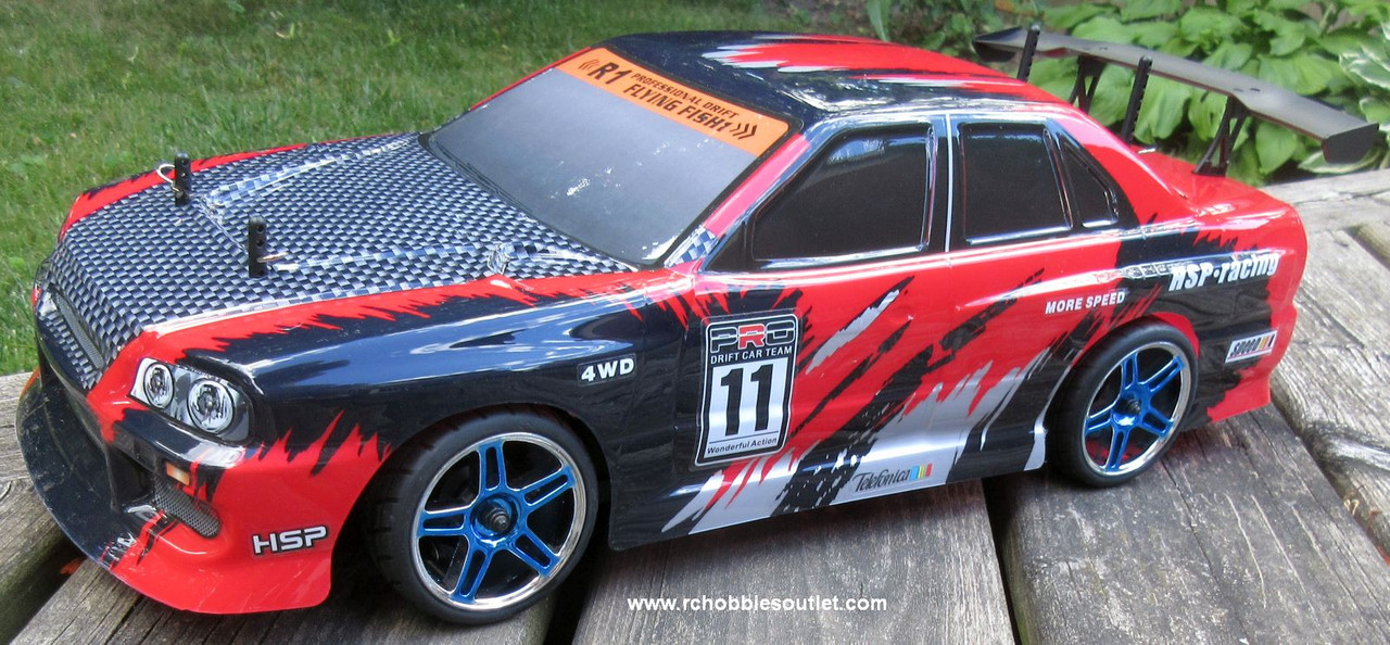 RC  Race Car HSP Brushless Electric 1/10 Scale Pro LIPO  4WD 2.4G 12334