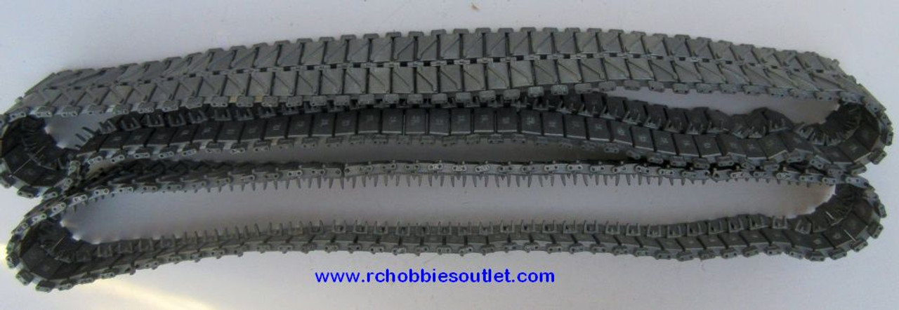 Heng Long Metal Track  For  RC Snow Leopard Tank M26 3838 ( 2 tracks)