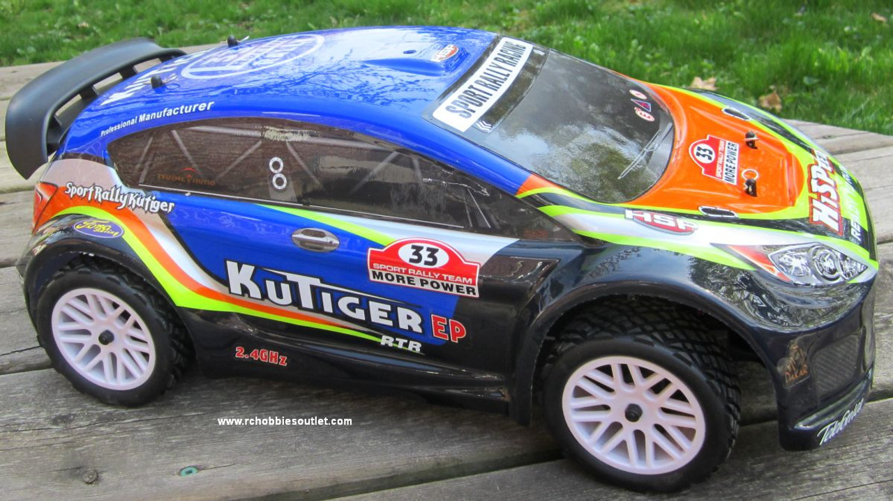 RC Sports Rally car electric