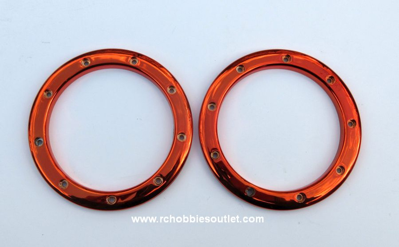 99005  Tire Secure Rings  for 1/8 scale HSP, Redcat. Exceed  Rock Crawler