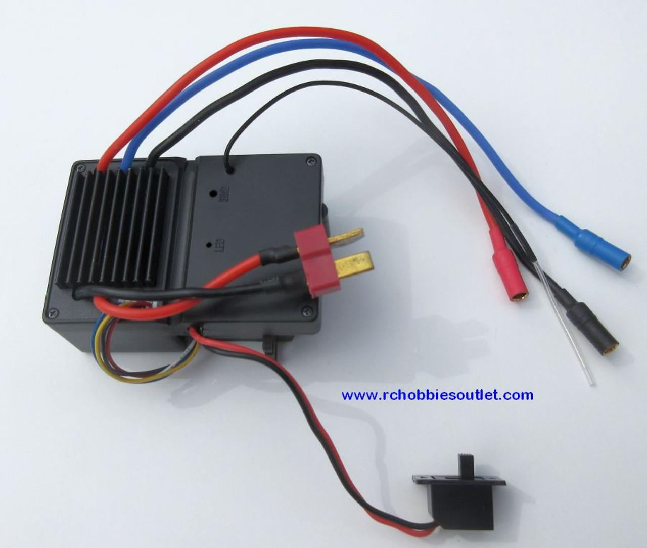 50648  Brushless ESC Servo Receiver Module for 1/12 Scale HSP Brushless Buggy