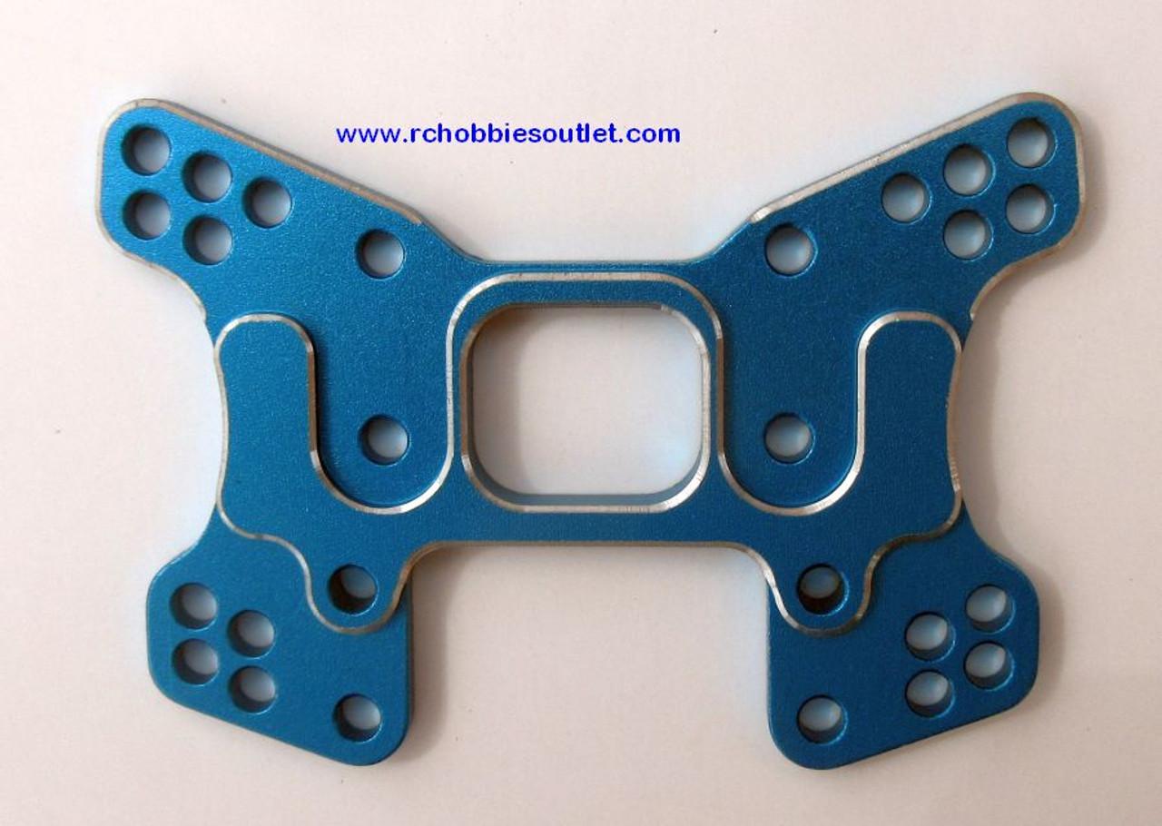 106623, 06037,  106023,  1/10  Blue Upgrade Aluminum Rear Shock Tower (06014)