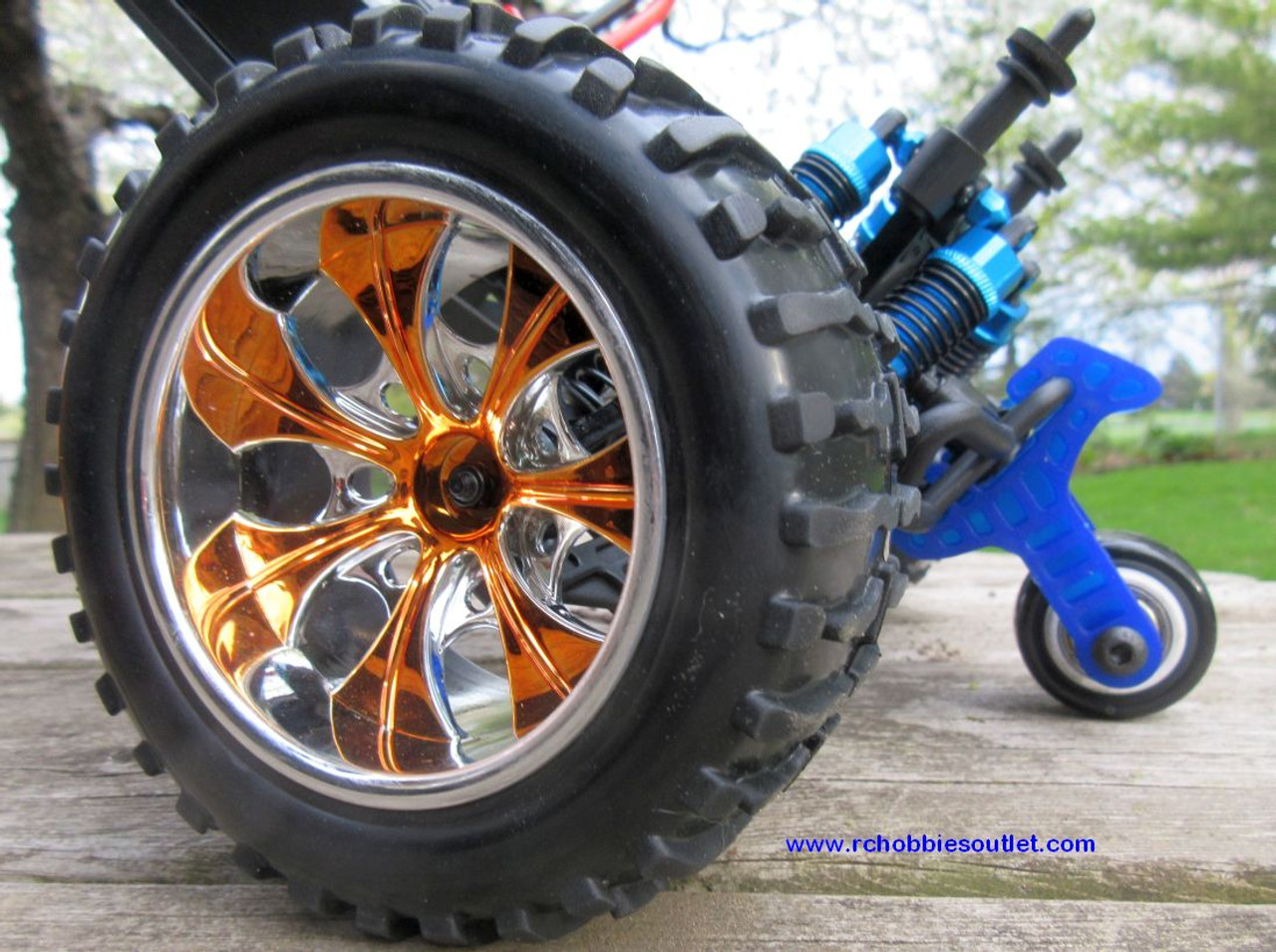 Wheelie Bar for 1/10 Scale HSP Monster Trucks, Redcat Volcano, etc.