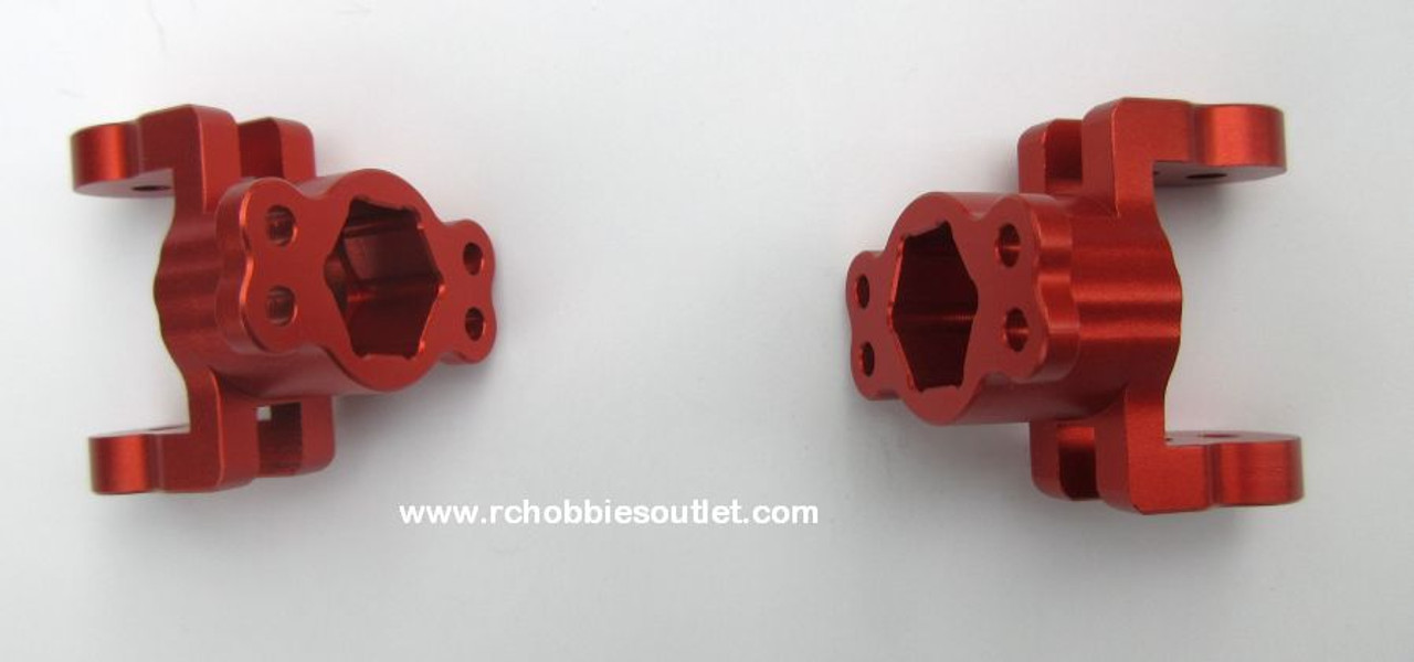 880002 Caster Mount Aluminum Upgrade  for 1/8 Scale Rock Crawler (Orange)